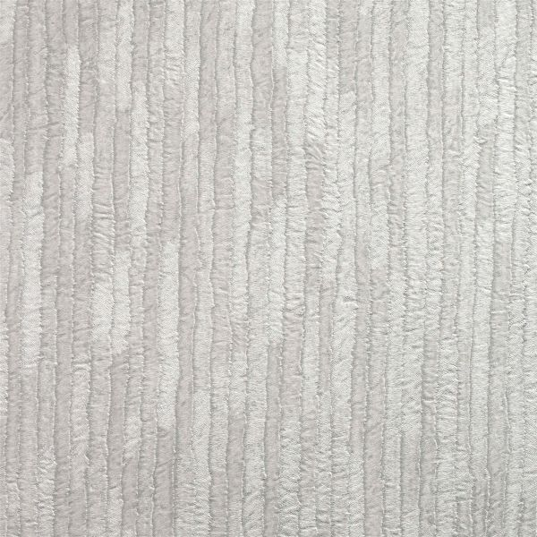 Crown Bergamo Leather Texture Silver Light Grey Wallpaper