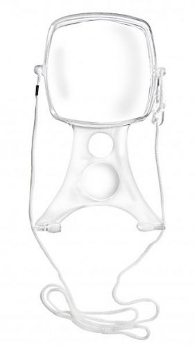 Hands Free Magnifier With Neck Strap & Anti Slip Feet