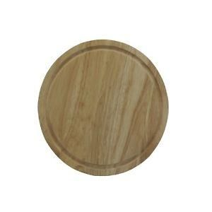 25cm Round Wooden Bread Cheese Fruit Vegetable Cutting Chopping Cutting Board