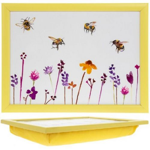 Busy Bees  Gorgeous  Rectangle Lap Tray The Leonardo Collection