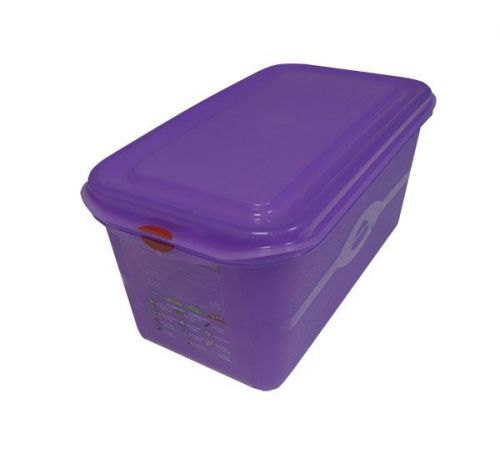 Pro Colour Coded Container 1/3 6Ltr Purple Gastronorm Storage Box