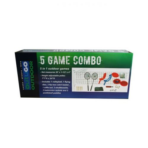 5 In 1 Outdoor Games Combo Garden Play Set
