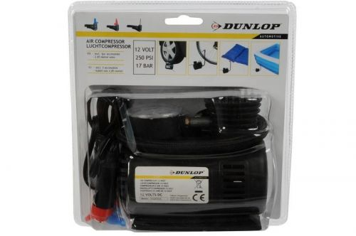 Dunlop 12V Air Compressor Car Footbal Cycle Cigratte Lighter Socket