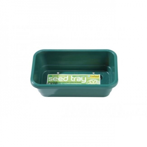 Mini Seed Tray Green With Holes