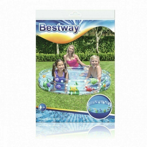 Bestway Sealife Paddling Pool for children 152x30CM