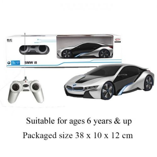 BMW i8 Remote Control Cars for Kids 1:24 Scale Electric Radio Controlled