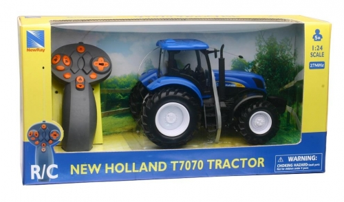 New Holland RC Radio Controlled Tractor Toy