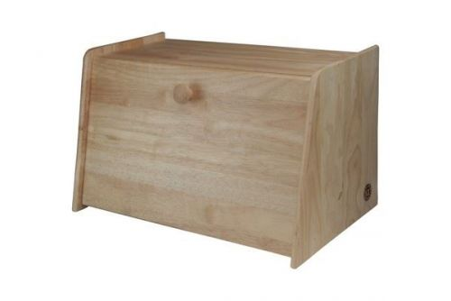 Bread Bin Wood Ideal for Storage Cakes Snacks Pancakes Crepes Breakfast