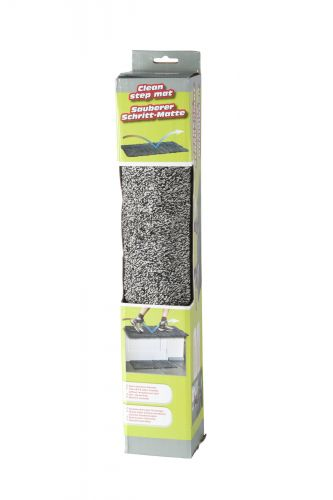 Clean Step Mat Super Absorbent Doormat Traps Dirt & Water Instantly