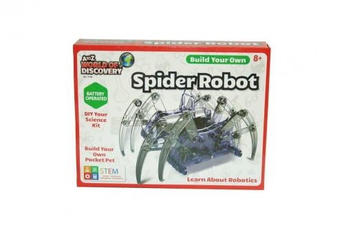 Build your Own Spider Robot Science Kit Build It Kids Toy