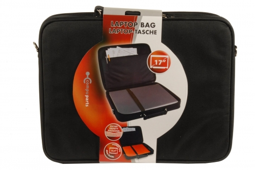 17 inch Laptop Carrying Bag Extra Safety Padding Black