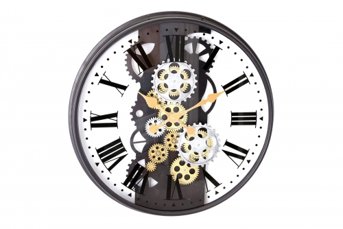 53Cm Moving Gear Clock Home Decoration