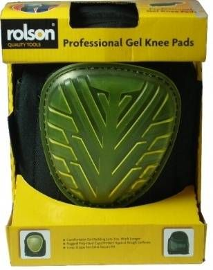 Professional Gel Knee Pads in Window C/Box