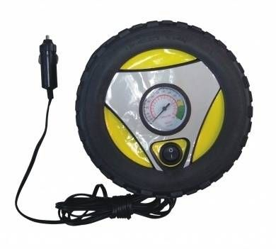 Wheel Shaped 12V Air Compressor