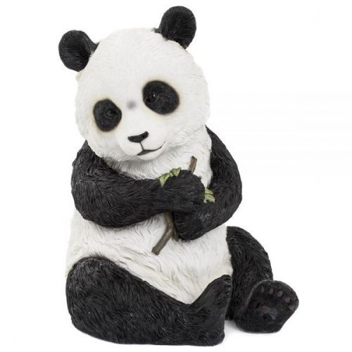 20Cm Sitting Panda Figurine Ornament Home Decoration