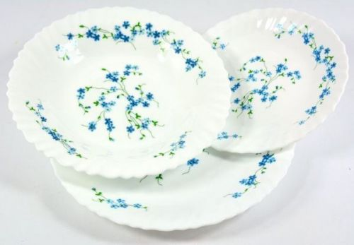 Arcopal 18pcs Veronica Dinner Set Dinner Soup Side Plates