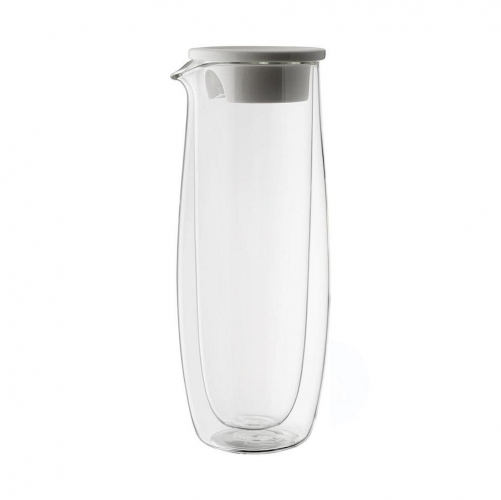 Artesano Hot and Cold Beverages Glass Carafe with Lid