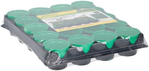 Growing set with tray PL  20 pieces in tray 6x30x24cm