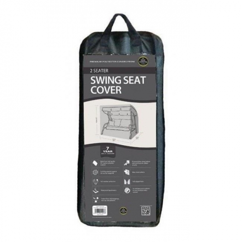 2 Seater Swing Seat Cover Black