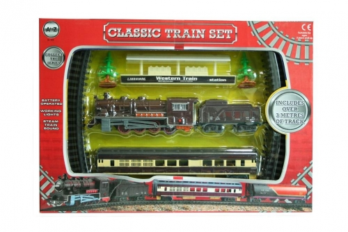 Classic Train Set Battery Operated