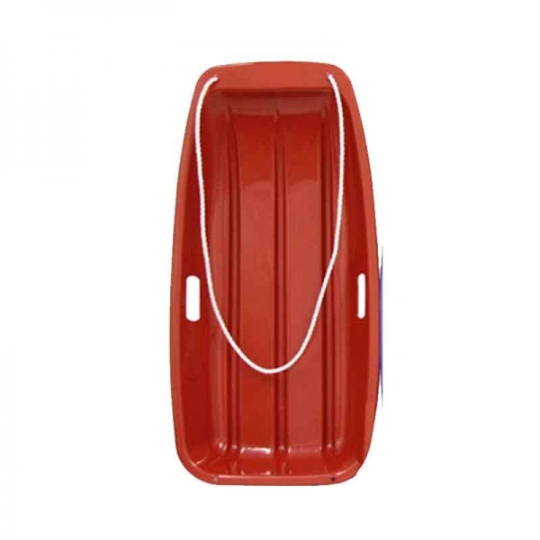Red Snow Sledge Strong Plastic
