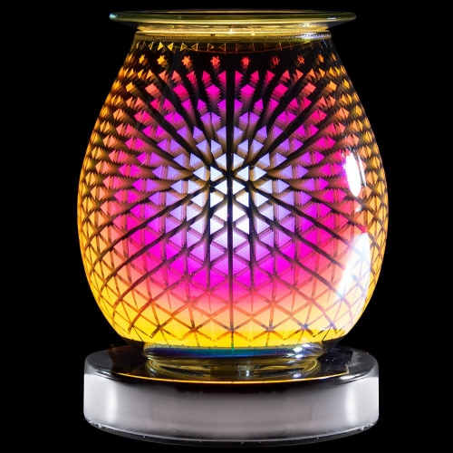 Desire Aroma Cascade Design Electric Touch Lamp Wax Melt Oil Burner