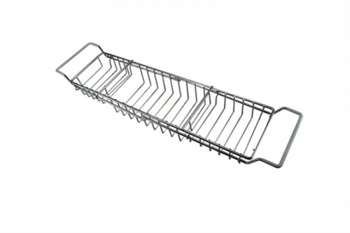 Adjustable Chrome Bath Rack