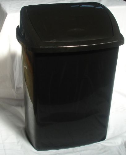 40 ltr Plastic Swing Lid Dustbin Household Kitchen