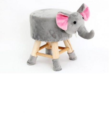 40cm Elephant Shape stool for children nice and strong