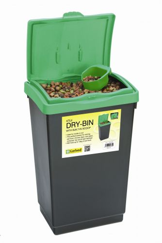 47L  Dry-bin with scoop made from plastic for storage