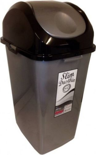 50 ltr Slim Dustbin Ideal for use in the kitchen