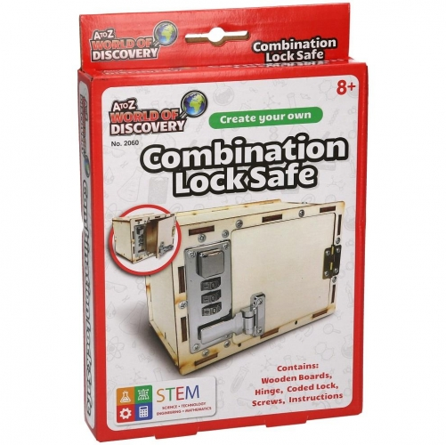Create Your Own Combination Lock Safe Science Set