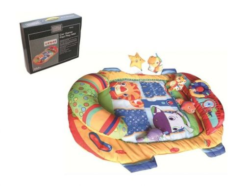Babies Car Game Play Mat Soft Washable Cushoined