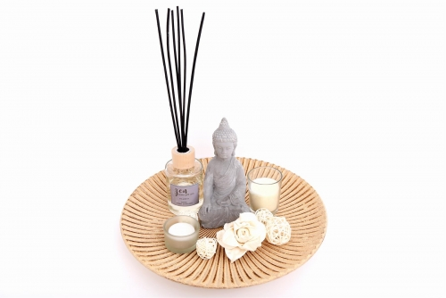 80ml Buddha Diffuser and Candle Gift Set For Home Decor