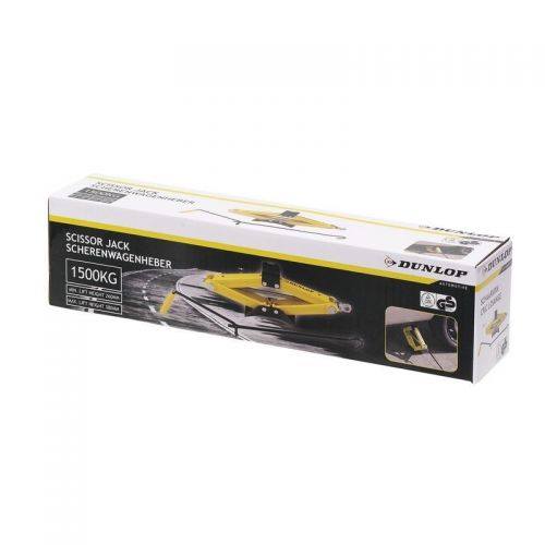 Dunlop 1500kg Capacity Car Vehicle Scissor jack