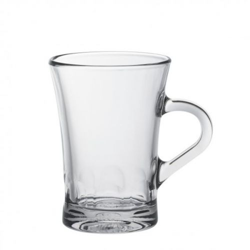 Duralex Amalfi Mug 17Cl Pack Of 6 Without Filling Mark Clear Glass