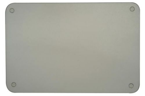 60x40cm Worktop Saver Protector Board Glass Clear Ideal for Chopping Cutting