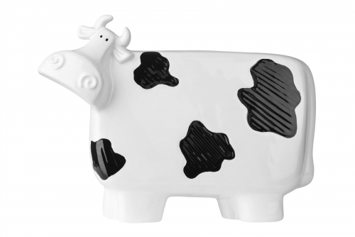 Premier Housewares Large Cow Ceramic Ornament W32 x D9 x H24 cm