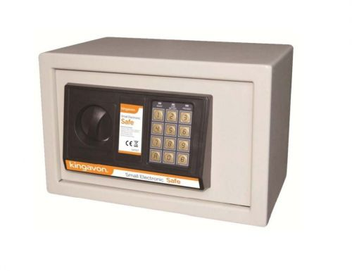 Solid Steel Secure Small Electronic Digital Safe Home Office Security