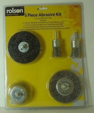 5 Piece Abrasive Kit
