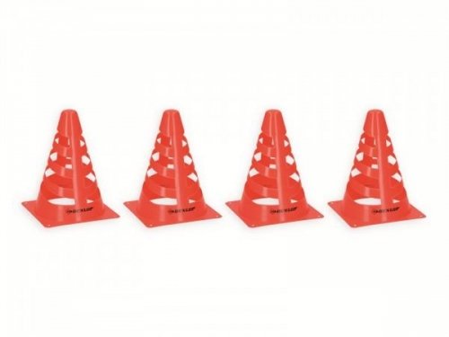 Set of 4 Dunlop Cones Plastic 18X13 CM