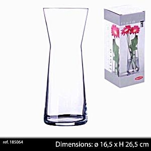Botanica Clear Glass Flower Plant Vase Terrarium Container Home Garden Decor New