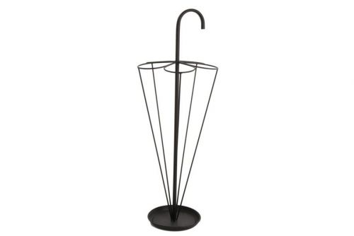 23X80Cm Black Umberella Shape Stand Heavy Metal