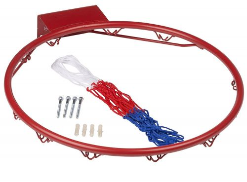 Metal Basketball ring 45cm with net and fittings