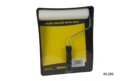 Paint Roller With Tray Set Black Home Painting Decorating