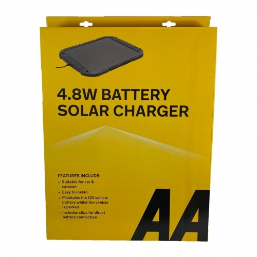 4.8W Battery Solar Panel Charger