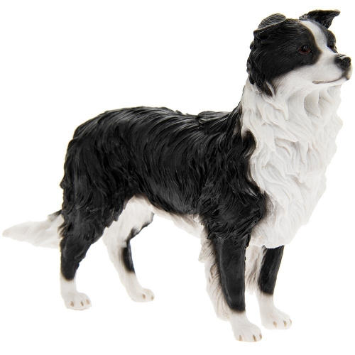 Best Breed Dog Sheepdog Black and White Standing Ornament