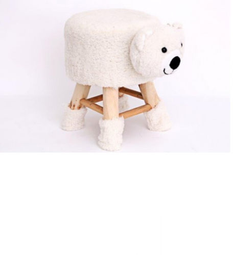 40cm Bear Shape stool for children nice and strong